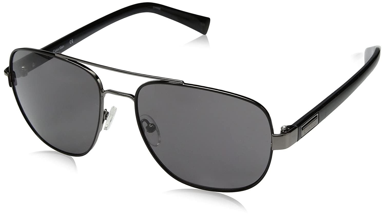 Calvin Klein Mens R357S Aviator Sunglasses