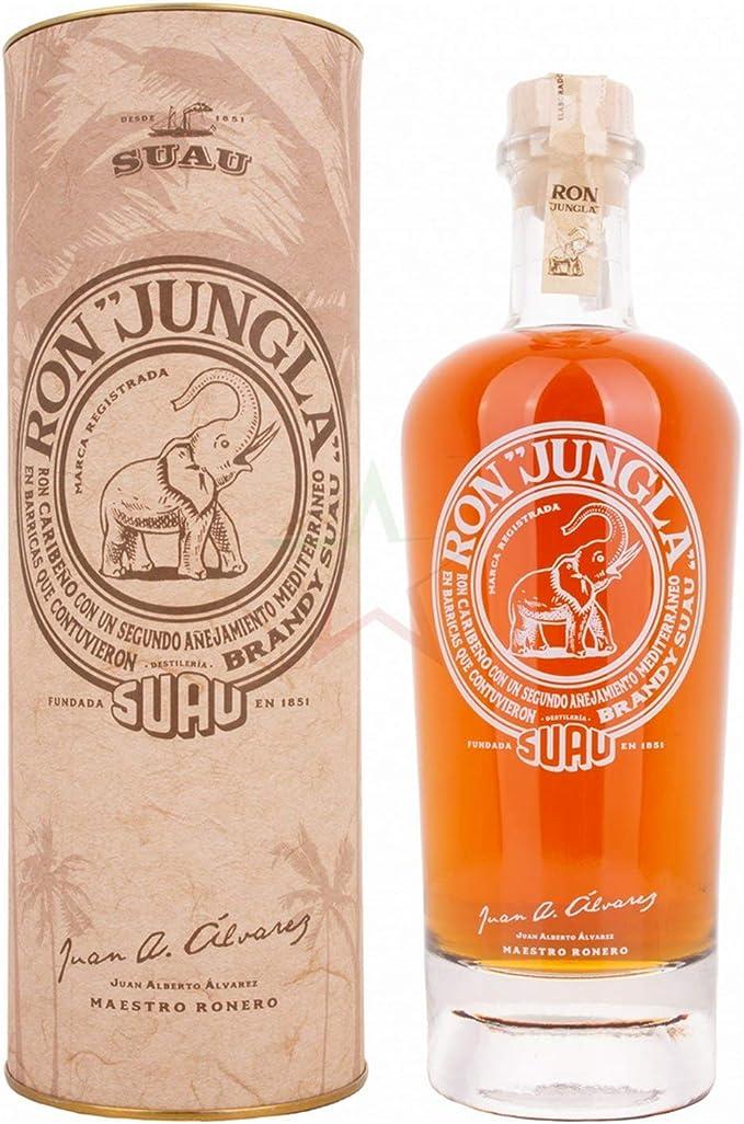 Ron Jungla 40% - 700 ml in Giftbox: Amazon.es: Alimentación y ...