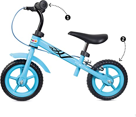 Lhh Balance Bike Ajustable Walking Entrenamiento Bicicleta Freno ...