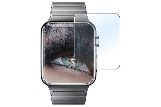 9 opinioni per Proteggi schermo in vetro temperato per Apple Watch (38 mm)- Pellicola