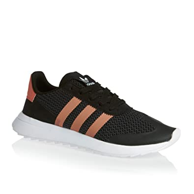 fd49b11958 adidas Women s Flashback Sneaker Low Neck Black  Amazon.co.uk  Shoes ...