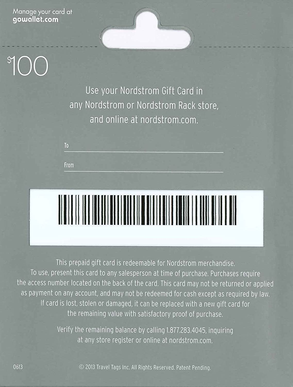 Amazon.com: Nordstrom Gift Card $25: Gift Cards