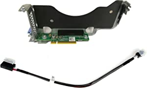 BestPartsCom New PCIe Riser 0VG0Y & Raid Cable 8YMGD Compatible with Dell Poweredge R440 R540 H740P H730P H730 Controller