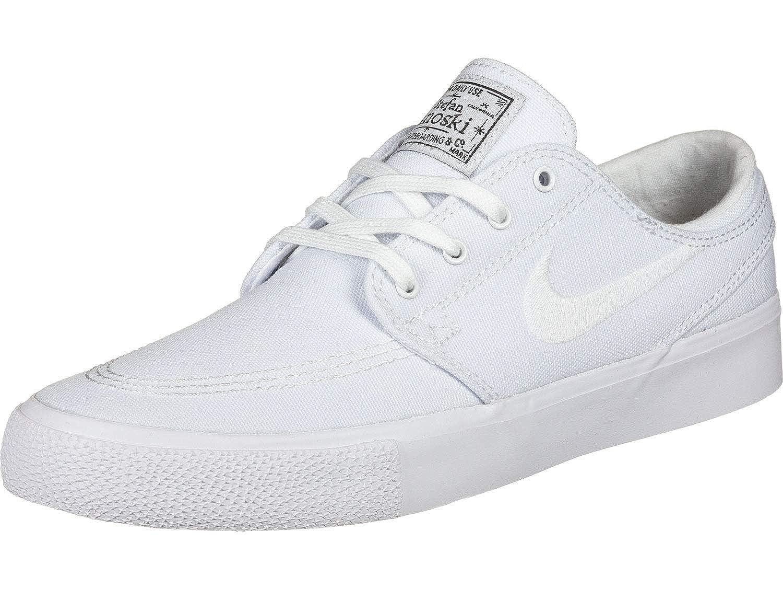 MultiCouleure (blanc blanc Gum Light marron noir 000) Nike SB Zoom Janoski CNVS RM, Chaussures de Fitness Mixte Adulte 45.5 EU