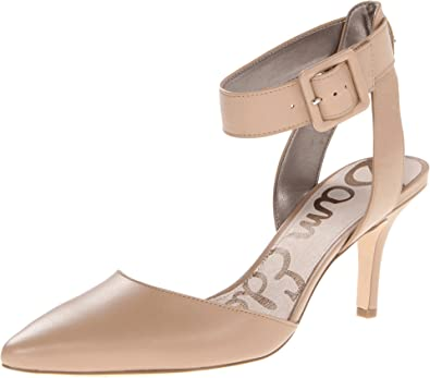Womens Sam Edelman Okala Pump Pumps Nude Leather