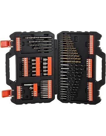 BLACK+DECKER A7200-XJ - Juego de 109 piezas para atornillar y taladrar con