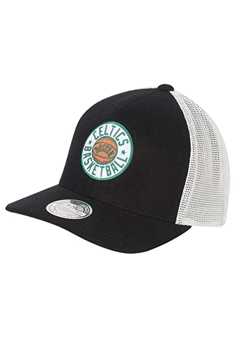 ab6598bb Image Unavailable. Image not available for. Color: Mitchell & Ness Trucker  Snapback Cap ...
