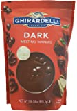 Ghirardelli Chocolate Melting Wafers (for Candy Making and Dipping), 1 Pound 14 Ounce Bag (Dark Chocolate)