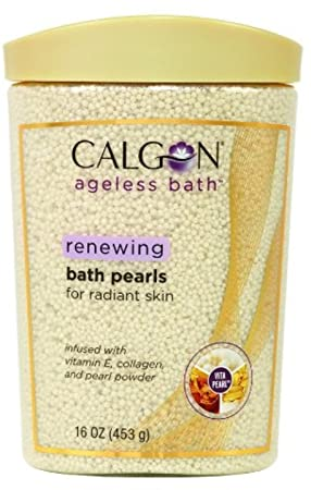 Calgon Ageless Bath Pearls, 16 oz Pack of 3