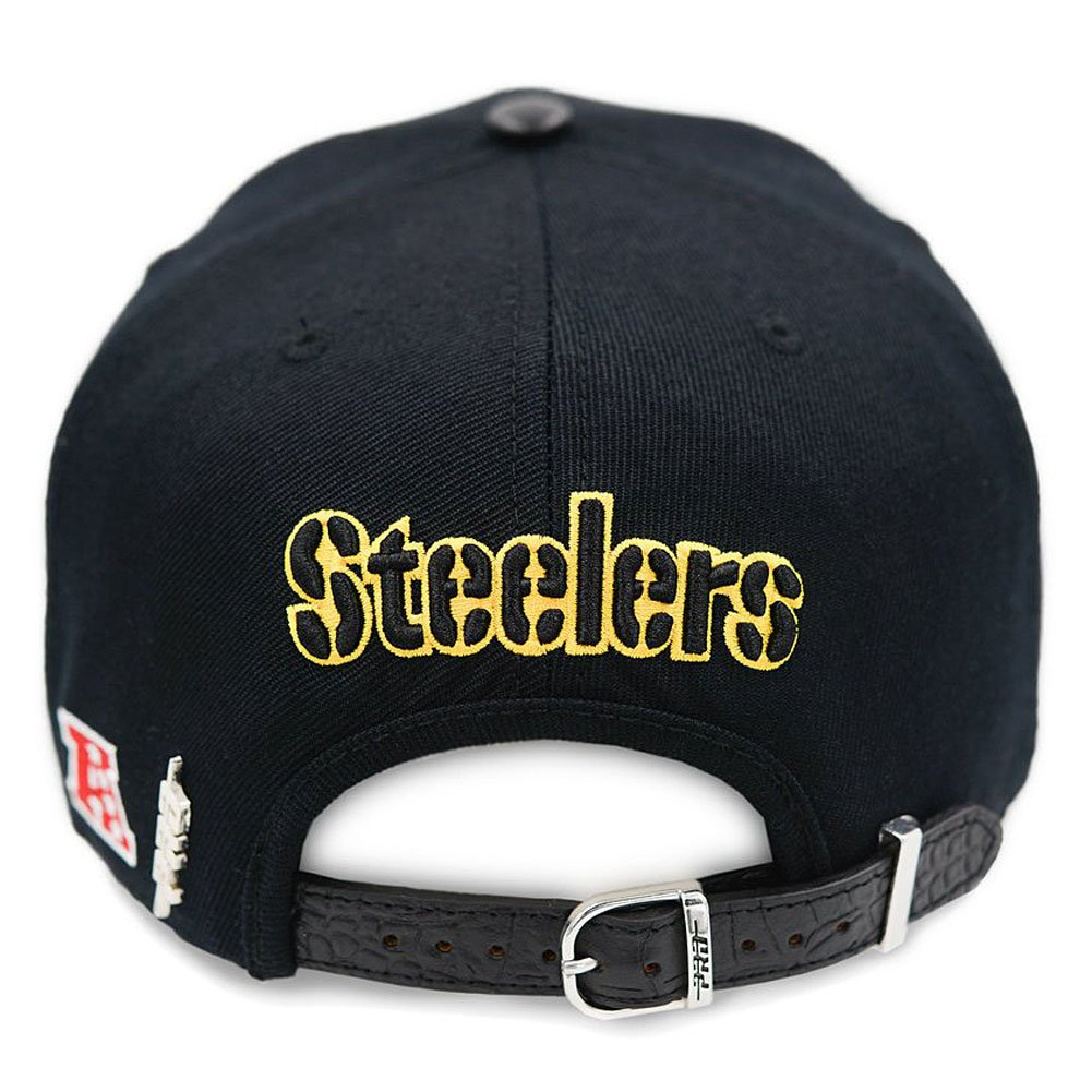 bf276d7fa Pro Standard Men's NFL Pittsburgh Steelers Buckle Hat W/Pins Black ...