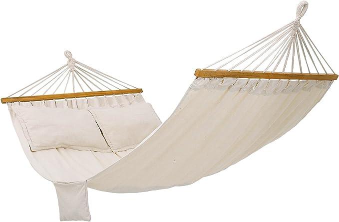 amache brasiliane per giardino si adatta alla maggior parte dei telai di supporto Capacit/à massima di carico: 100 kg. con borsa per il trasporto esterni in cotone KIOPS Amaca sospese da esterni