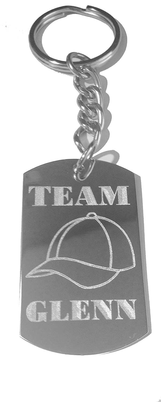 Metal Ring Key Chain Keychain KEY CHAINS Team Glenn Baseball Hat Zombie TV Show Logo
