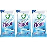 Greenshield Anti-Bacterial Floor Wipes - 30's Extra-large wipes Pack Of 3