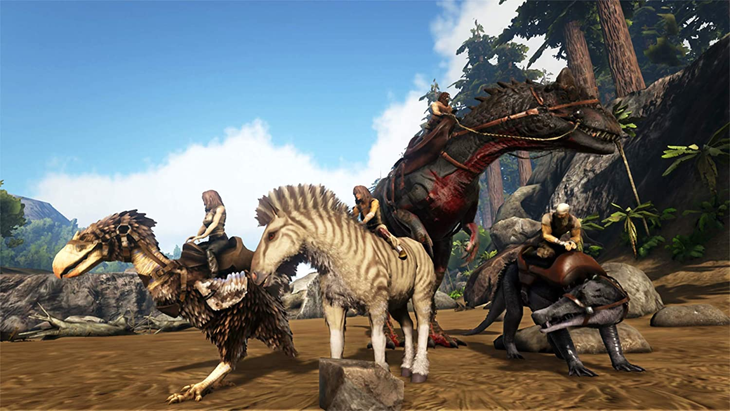 Amazon com: ARK: Survival Evolved - Nintendo Switch: Video Games