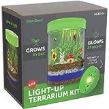 Light-up Terrarium Kit for Kids with LED Light on Lid - Science Kits for Boys & Girls - Gardening Gifts for Children…