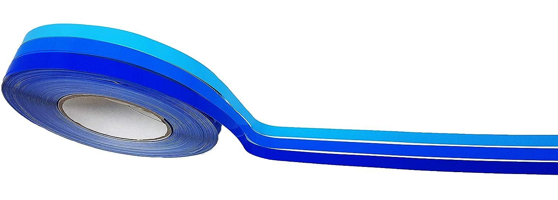 Villa D 10038/rollo Tiras adhesivas en Tonos azules 35/mm X 10/MT