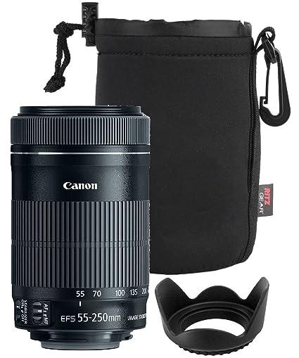 Canon EF-S 55 - 250 mm f4 - 5.6 es Mark II lente para Canon ...