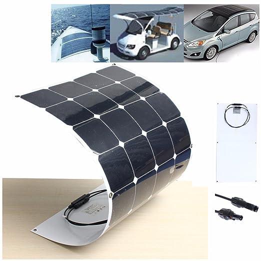 4 opinioni per Pannello solare 100W 18V MOHOO® SUNPOWER Pannello fotovoltaico semi-flessibile