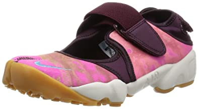new arrivals 8ed88 186d2 Nike WMNS Air Rift PRM QS Chaussures de Sport Femme, Rouge - Rojo (Merlot