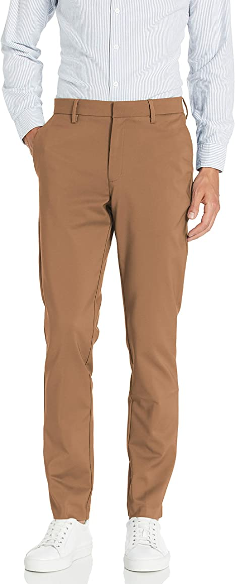 Goodthreads Mens Slim-Fit Stretch Performance Chino Pant Pant