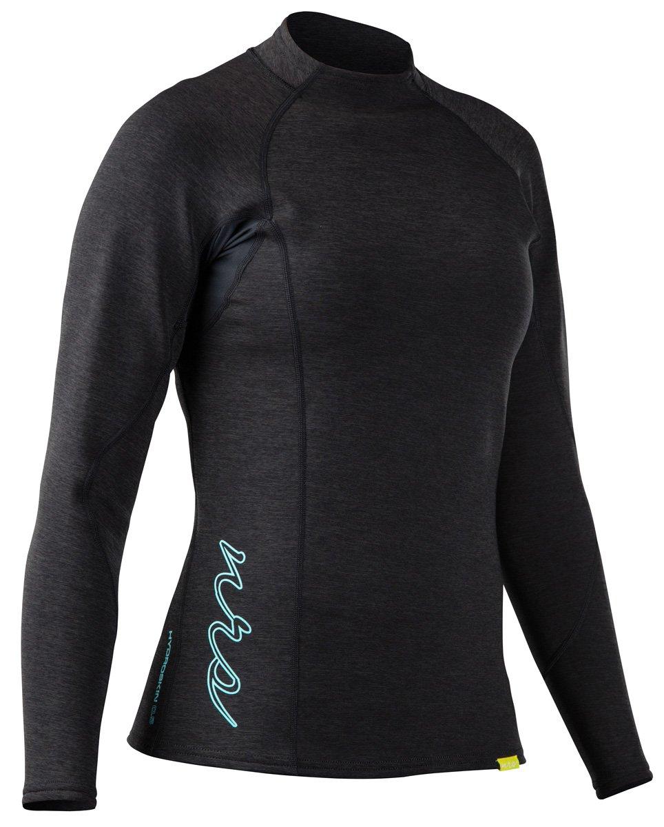 最安値 NRS Large – HydroSkin 0.5 LS NRS Shirt – Women 's Large ヘザーチャコール B016VTARR4, ジェットラグ:e85c23e3 --- senas.4x4.lt
