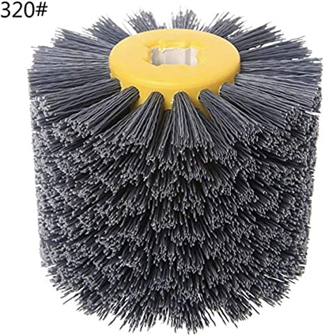 Replacement Wire Drawing Brush Drum Wheel Surface Polishing Deburring Tool Parts