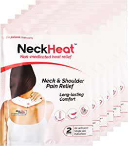Pslove NeckHeat Non-Medicated Heat Relief, 2ct (Pack of 6)