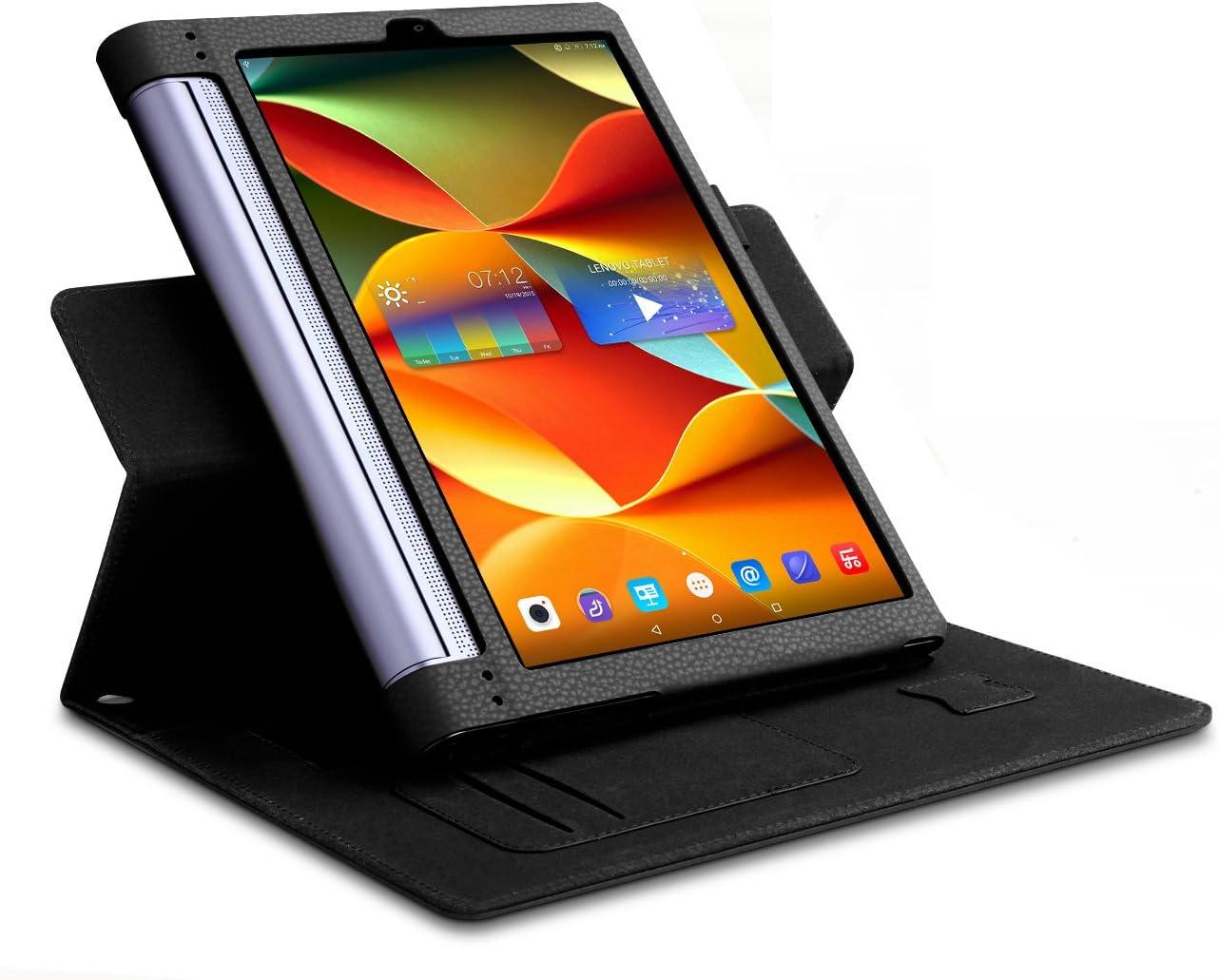 ELTD Lenovo Yoga Tab 3 Pro Cover, Book-Style Funda de Piel de ...