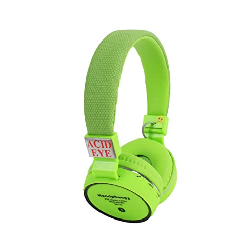 3df30ce9ad1 Buy Acid eye SH-10-GREEN Bluetooth Headphone With FM and Calling Online at  Low Prices in India - Amazon.in