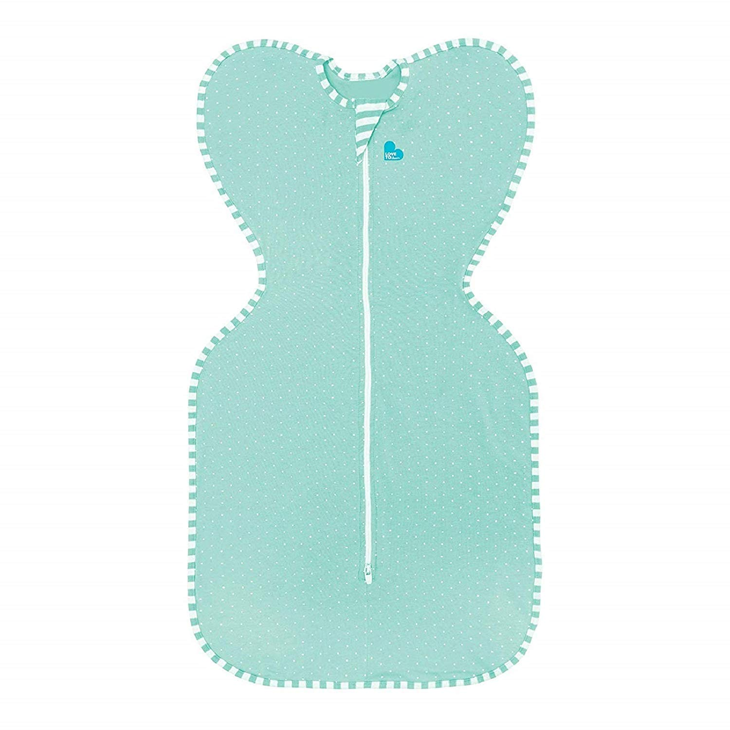 Love To Dream Swaddle UP Lite, Ice Green, Small, 7-13 lbs, Dramatically Better Sleep, Allow Baby to Sleep in Their Preferred arms up Position for self-Soothing, snug fit Calms Startle Reflex by Love to Dream