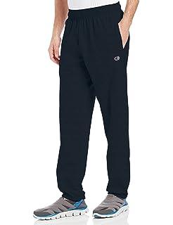 347b515bf695 Amazon.com  Champion Men s Open Bottom Light Weight Jersey pants ...