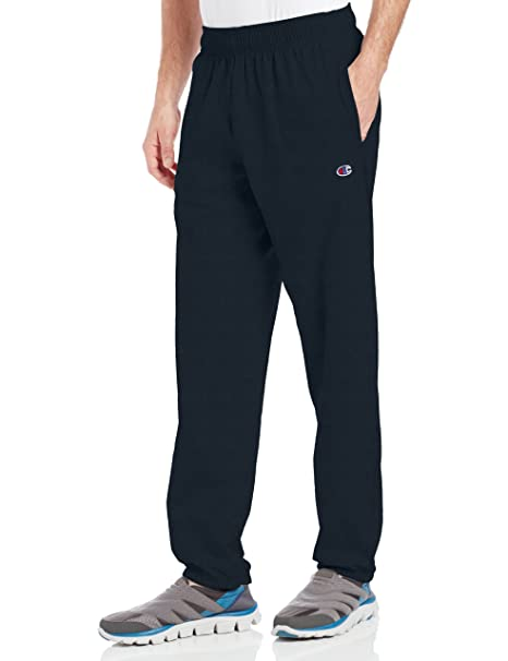 be645f79778d Champion Men s Closed Bottom Light Weight Jersey Sweatpant at Amazon ...