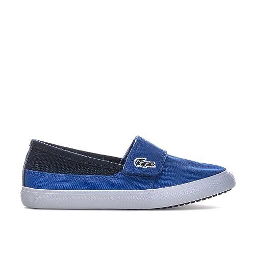 Lacoste - Zapatillas de Tela para niño azul azul: Lacoste: Amazon.es: Zapatos y complementos