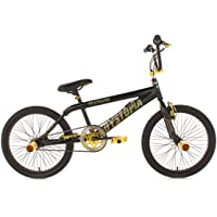 KS Cycling Dystopia 539B BMX freestyle V Brake Noir 20""
