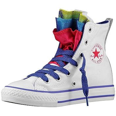 Converse All Star Chuck Taylor Party Kinder Sportschuhe Weiss 647670C - Weiss, 27 Converse