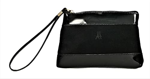 ANTHER CH1129N Monedero Ante-Charol de color Negro 17 X 12 ...