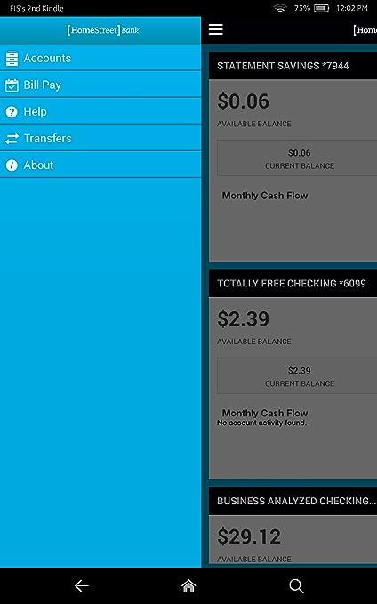 homestreet bank app