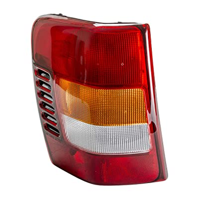 TYC 11-5276-90-1 Compatible with JEEP Grand Cherokee Left Replacement Tail Lamp: Automotive