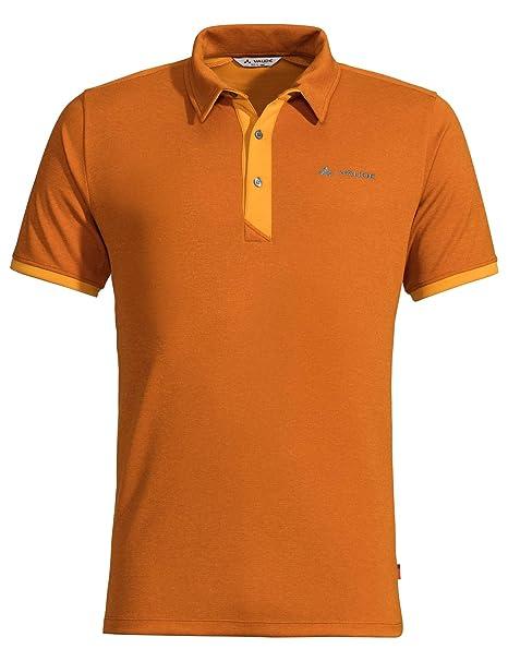 VAUDE Mens Roslin Polo Shirt Camiseta, Hombre: Amazon.es: Ropa y ...