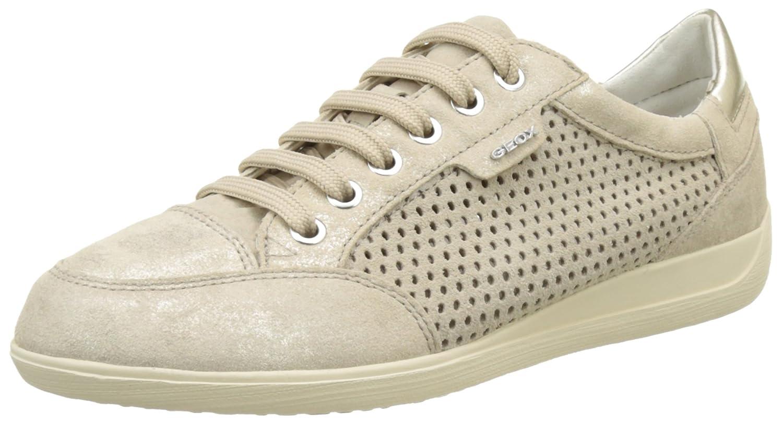 Geox Damen D Myria B Sneaker Beige (Lt Taupec6738)