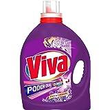 Viva Poder Dual Detergente Líquido con Clorox, Lavanda, 4.65L