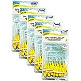 TePe Interdentalbuerste 0,7mm gelb, 5 Pakete von 8 (40 Bürsten)
