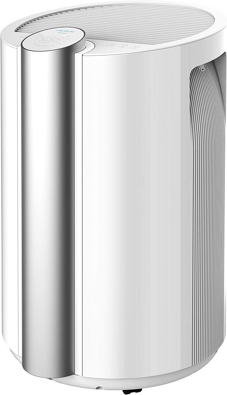 Cecotec Deshumidificador Big Dry 9000 Professional. Temporizador 12h, 20L/día, Depósito extraíble 4,5L, Cobertura 250m3/h, Gas R290, Silencioso, Humedad 40% a 80%, Pantalla LED, Apagado Automático