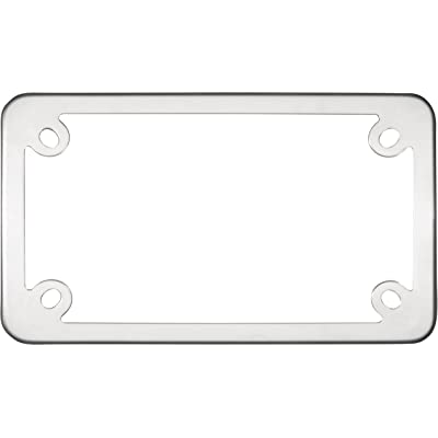 Cruiser Accessories 77000 MC Elite Motorcycle License Plate Frame, Stainless Steel: Automotive