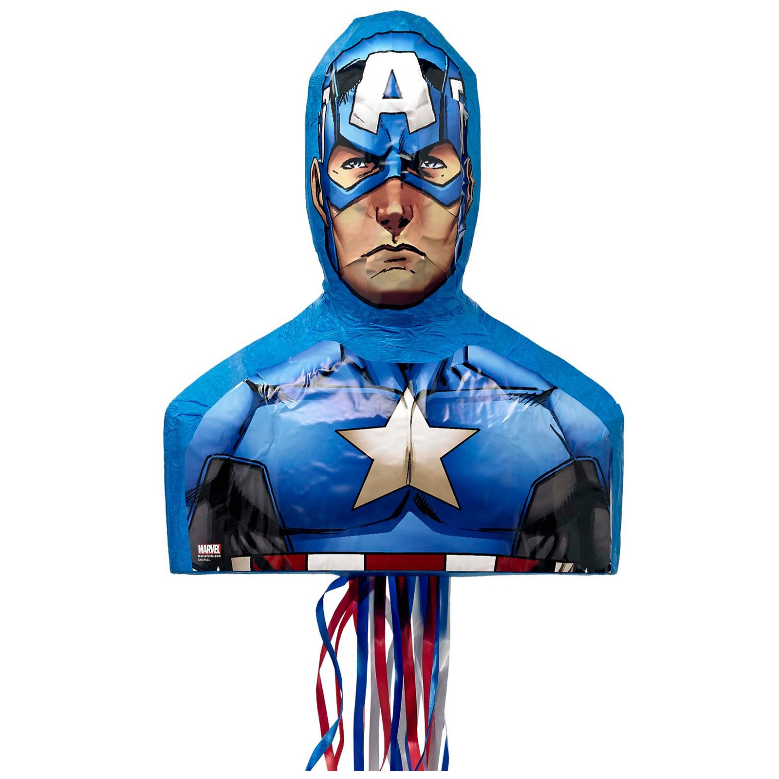 Ya Otta Pinata Captain America 3D Pull-String Pinata by Yaotta
