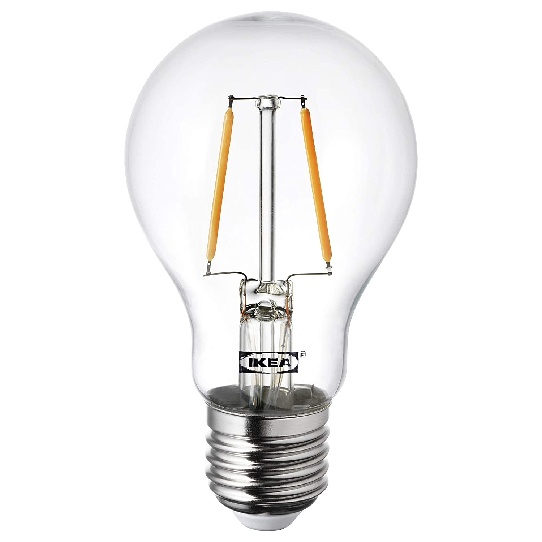 IKEA LUNNOM E27 - Bombilla LED de filamento (100 lúmenes): Amazon.es: Iluminación