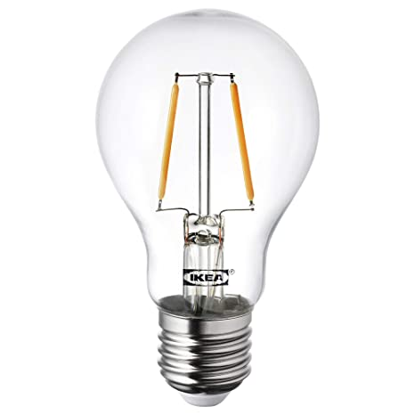 IKEA LUNNOM E27 - Bombilla LED de filamento (100 lúmenes)