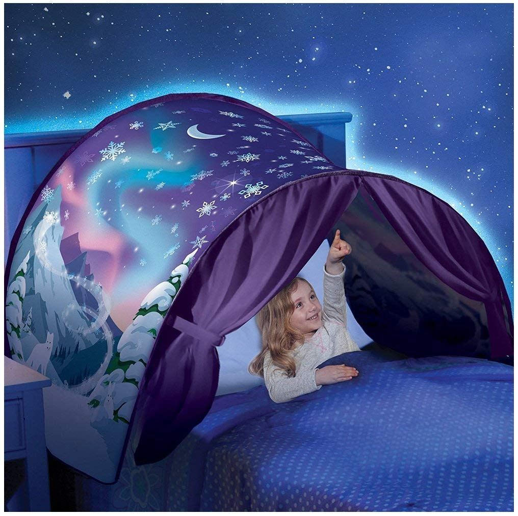 Reasoncool Baby Kid Pop Up Bed Tent Fairy Playhouse Fantasy Tent Bedding Mosquito Net Game Play Tent Festival Decor Tent (A) Famous Artwork