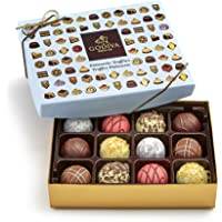 Godiva Chocolatier Assorted Chocolate Truffles Gift Box, 12-Pieces, 8 Ounce