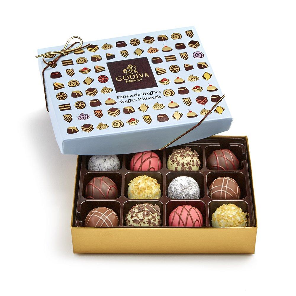 Amazon.com : Godiva Chocolatier Signature Chocolate Truffles, 12 Piece Gift Box, Great for